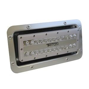 led semi recessed ip67 flood light 12 24 120 or 240 volt led. Black Bedroom Furniture Sets. Home Design Ideas